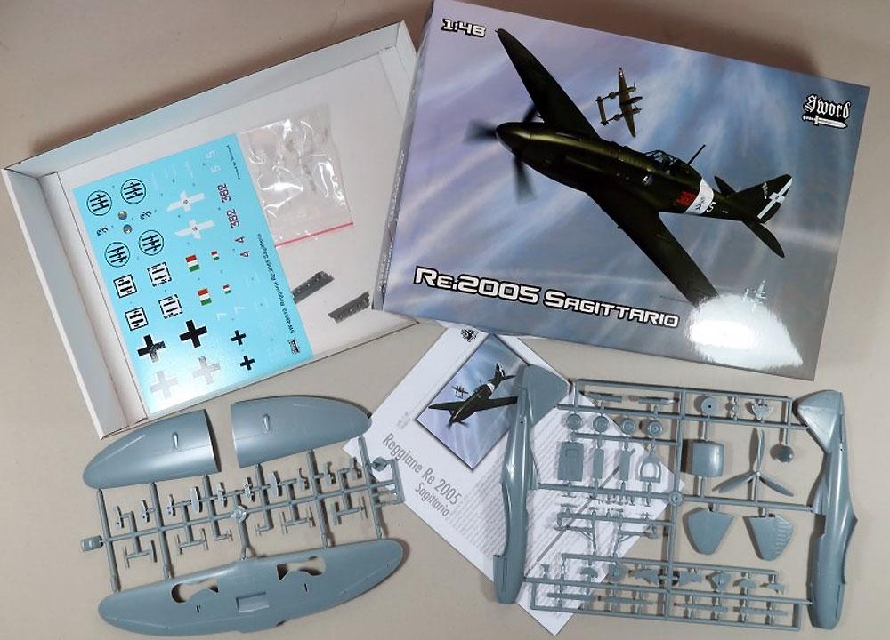 レジアーネ Re.2005 サジタリオプラモデル(ソード1/48 エアクラフト プラモデルNo.SW48010)商品画像_1