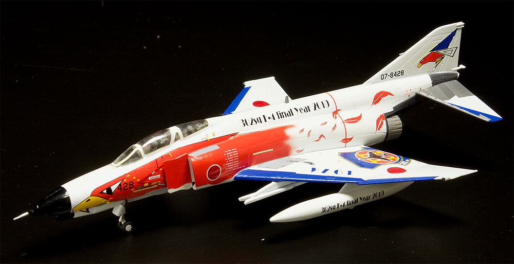 航空自衛隊 F-4EJ改 第302飛行隊 ラストファントム 2019 ホワイトファントムプラモデル(プラッツ1/144 自衛隊機シリーズNo.PF-027)商品画像_2