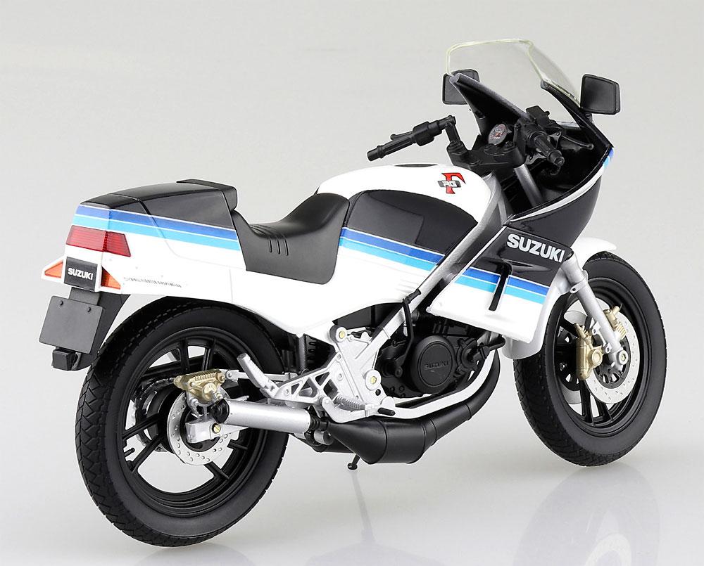 スズキ RG250Γ ブルーxホワイト完成品(アオシマ1/12 完成品バイクシリーズNo.106761)商品画像_2