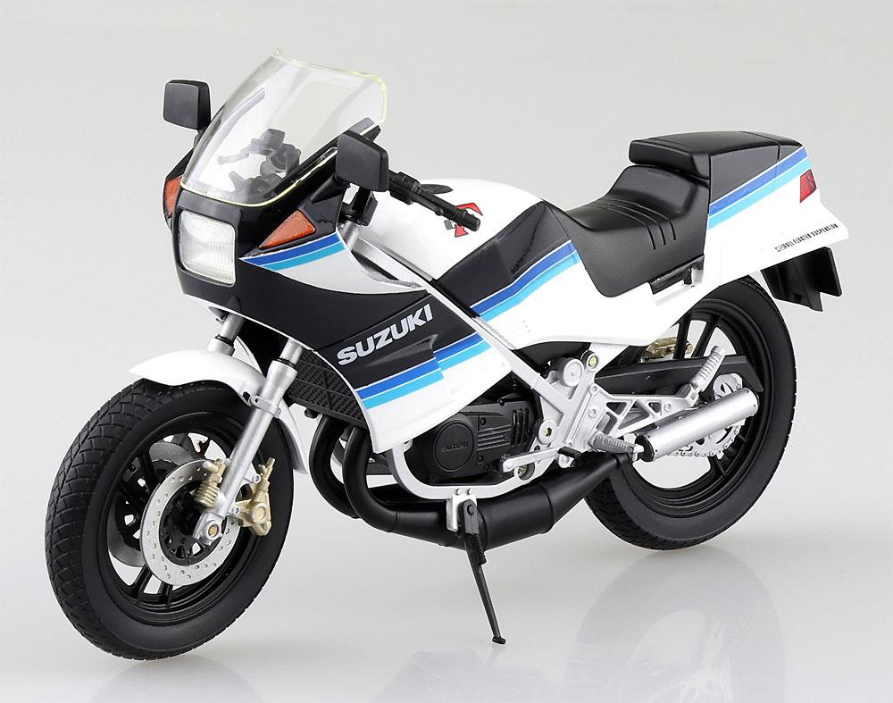 スズキ RG250Γ ブルーxホワイト完成品(アオシマ1/12 完成品バイクシリーズNo.106761)商品画像_3