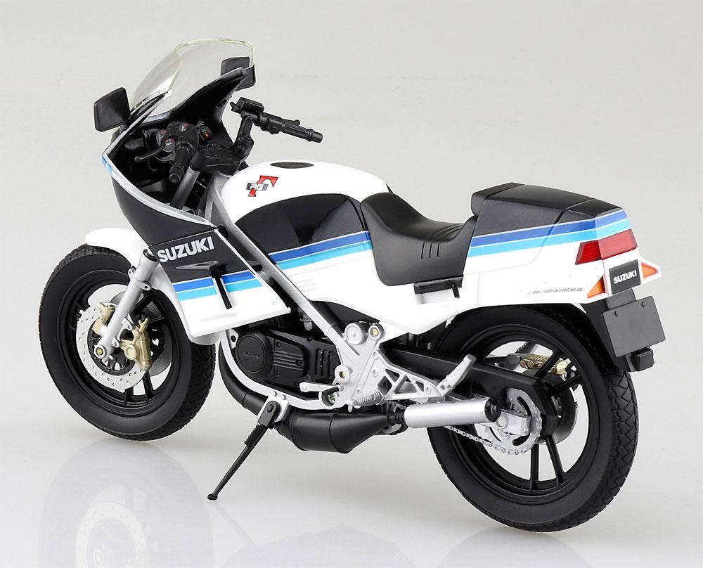 スズキ RG250Γ ブルーxホワイト完成品(アオシマ1/12 完成品バイクシリーズNo.106761)商品画像_4