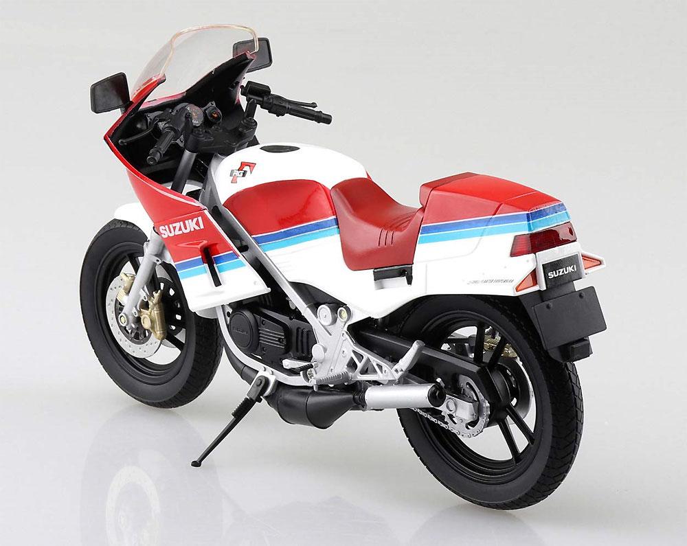 スズキ RG250Γ レッドxホワイト完成品(アオシマ1/12 完成品バイクシリーズNo.106778)商品画像_2
