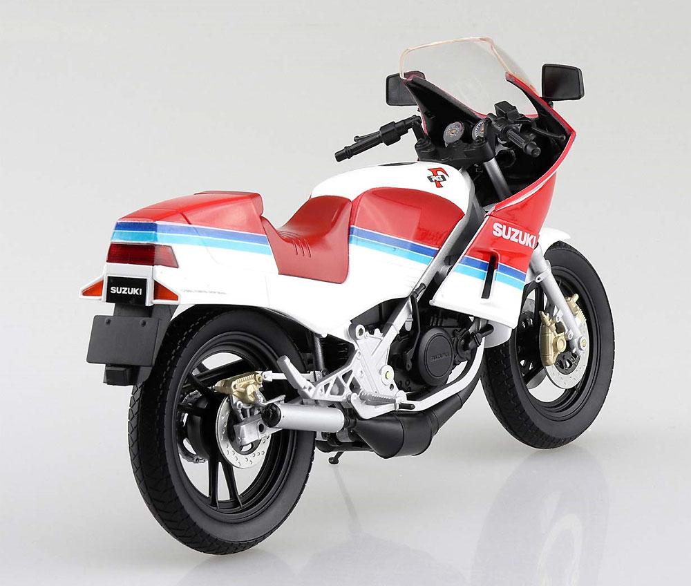 スズキ RG250Γ レッドxホワイト完成品(アオシマ1/12 完成品バイクシリーズNo.106778)商品画像_4