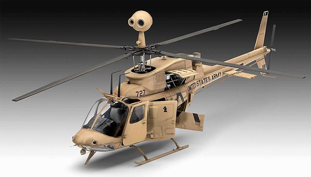 ベル OH-58 カイオワプラモデル(レベル1/35 ミリタリーNo.03871)商品画像_2