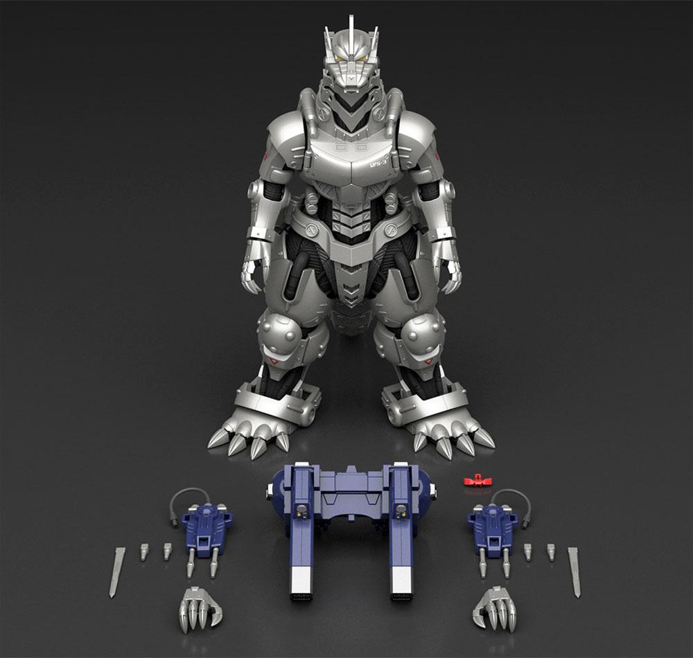 MFS-3 3式機龍 しらさぎ付属フルコンプリート版 ゴジラ×メカゴジラプラモデル(アオシマACKS (アオシマ キャラクターキット セレクション)No.GO-003)商品画像_2
