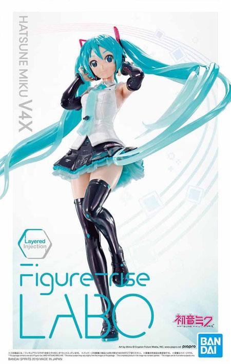 初音ミク V4Xプラモデル(バンダイフィギュアライズ ラボ (Figure-rise LABO)No.5055579)商品画像
