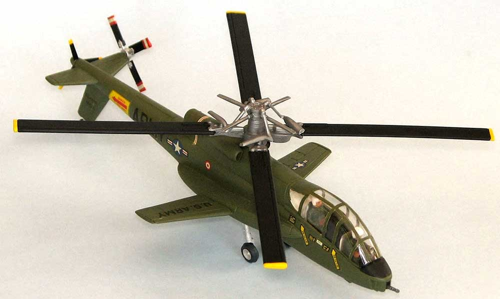 AH-56A シャイアン 攻撃ヘリプラモデル(アトランティスプラスチックモデルキットNo.A506)商品画像_1