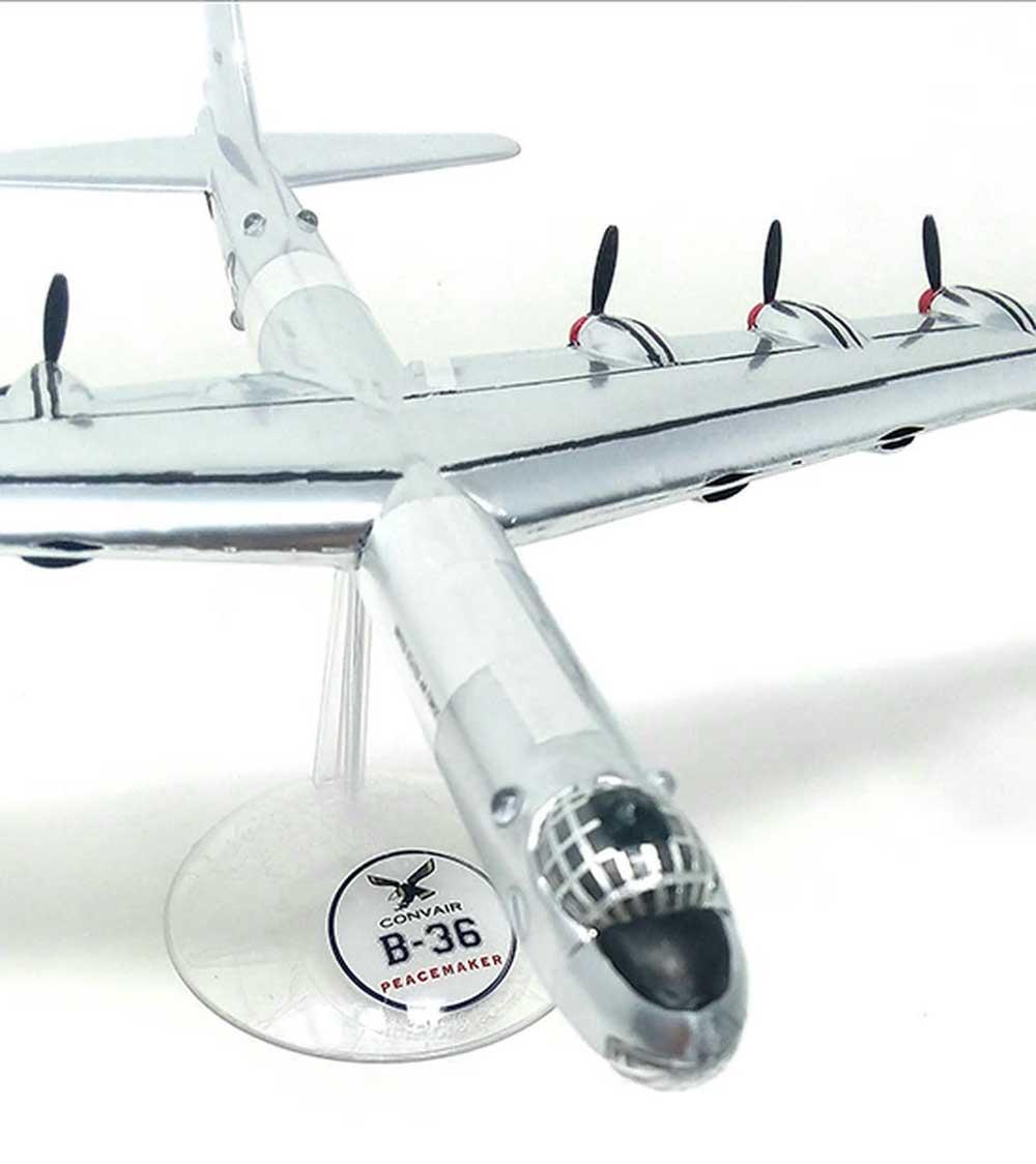 コンベア B-36 大型爆撃機 w/スイベルスタンドプラモデル(アトランティスプラスチックモデルキットNo.H205)商品画像_3