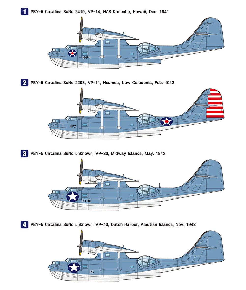 PBY-5 カタリナ パシフィックシアタープラモデル(ウルフパックウルフパックデザイン プレミアムエディションキットNo.WP17204)商品画像_2