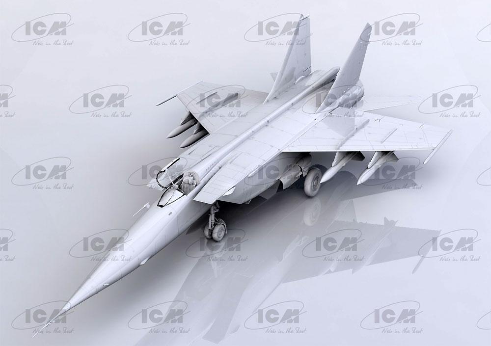 MIG-25BMプラモデル(ICM1/48 エアクラフト プラモデルNo.48905)商品画像_1