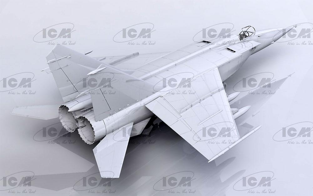 MIG-25BMプラモデル(ICM1/48 エアクラフト プラモデルNo.48905)商品画像_2