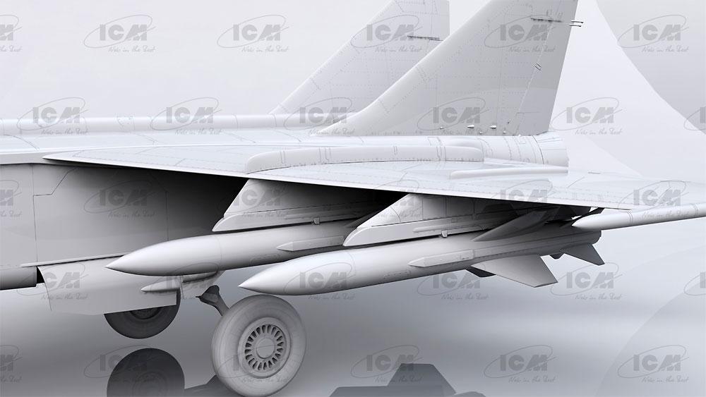 MIG-25BMプラモデル(ICM1/48 エアクラフト プラモデルNo.48905)商品画像_4