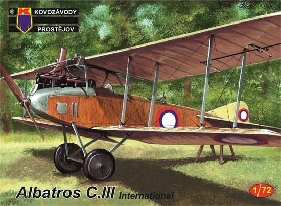 アルバトロス C.3 インターナショナルプラモデル(KPモデル1/72 エアクラフト プラモデルNo.KPM0150)商品画像