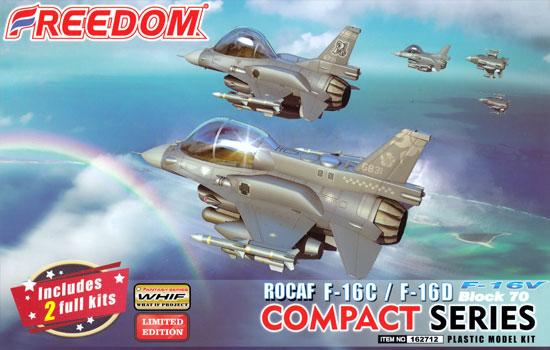 ROCAF F-16C/F-16D ブロック70 F-16V ヴァイパープラモデル(フリーダムモデルコンパクトシリーズNo.162712)商品画像
