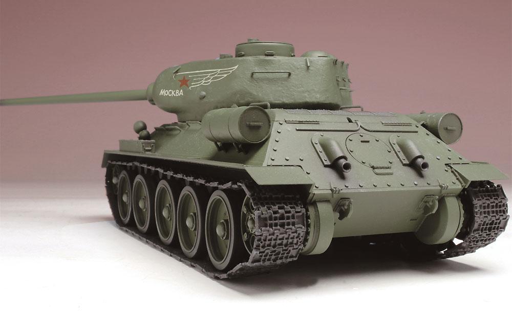 T-34/85 映画 レジェンド・オブ・ウォープラモデル(プラッツ1/35 プラスチックモデルキットNo.SP-125)商品画像_3