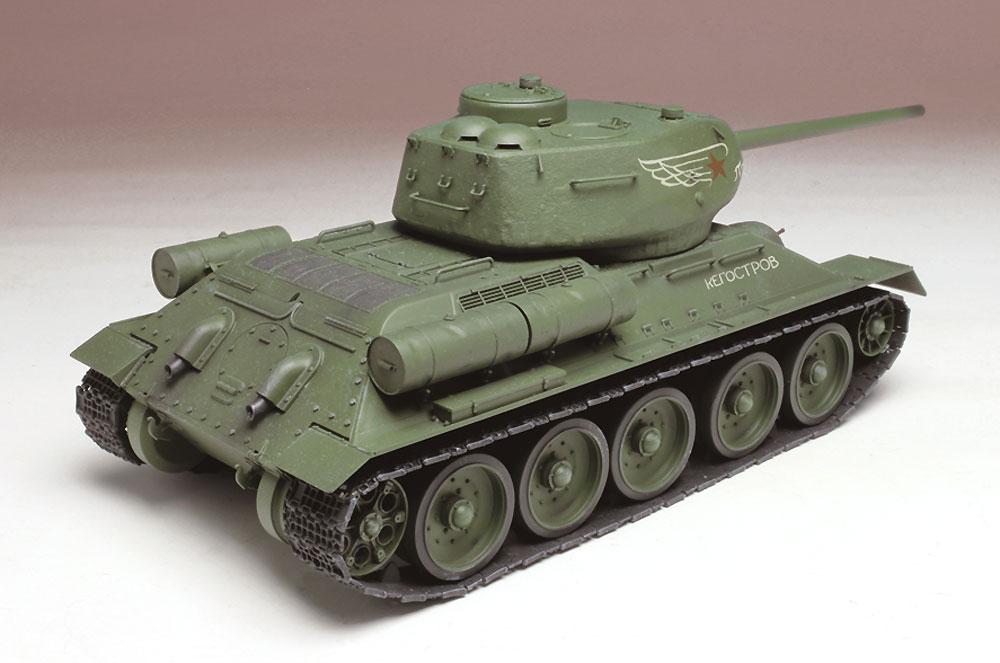 T-34/85 映画 レジェンド・オブ・ウォープラモデル(プラッツ1/35 プラスチックモデルキットNo.SP-125)商品画像_4
