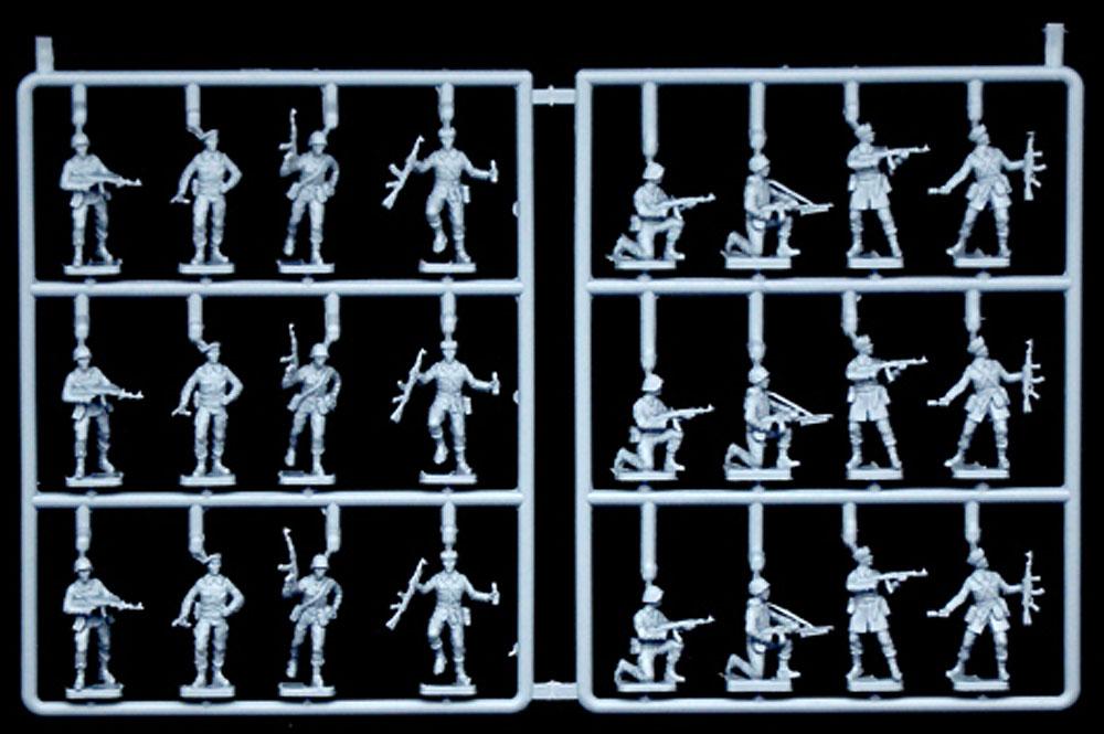 ワルシャワ条約機構 兵士プラモデル(イタレリ1/72 ミリタリーシリーズNo.6190)商品画像_2