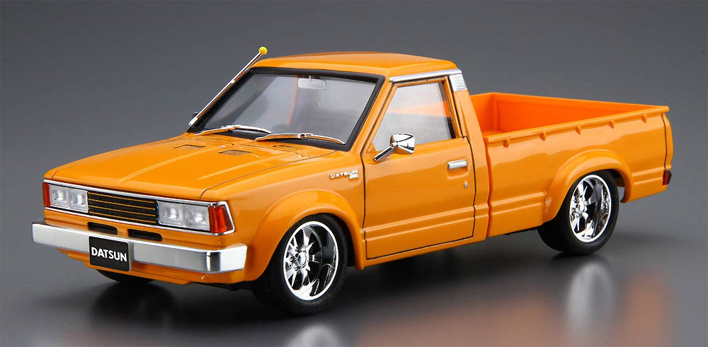 720 ダットサン トラック カスタム '82 (ニッサン)プラモデル(アオシマ1/24 ザ・チューンドカーNo.022)商品画像_2