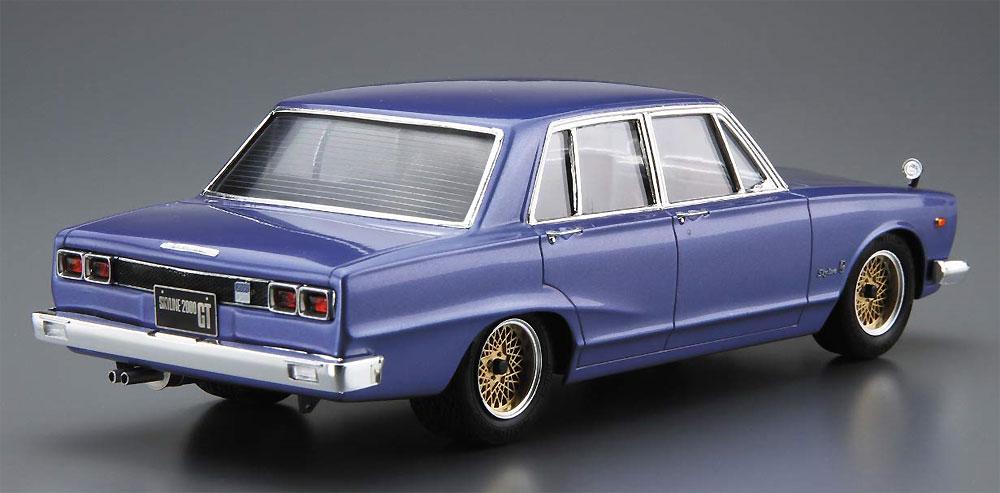 ニッサン GC10 スカイライン 2000GT '71プラモデル(アオシマ1/24 ザ・モデルカーNo.046)商品画像_3