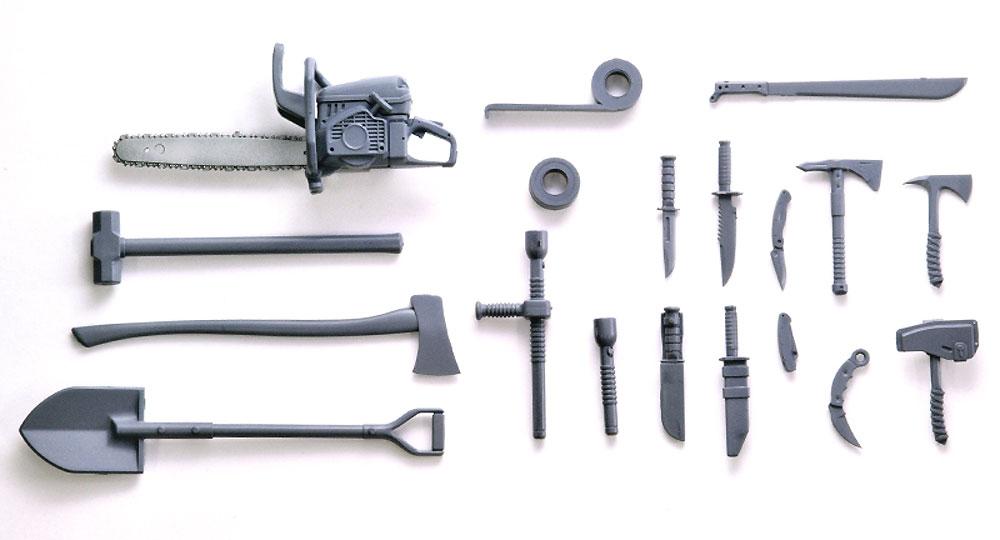 近接武器セット Aプラモデル(トミーテックリトルアーモリー (little armory)No.LD026)商品画像_1