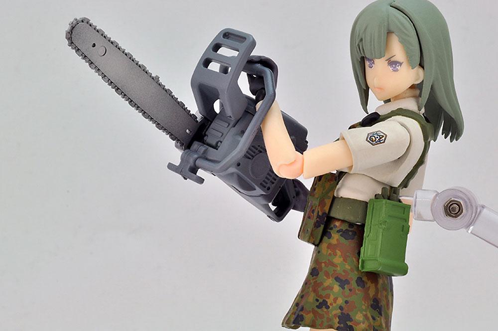 近接武器セット Aプラモデル(トミーテックリトルアーモリー (little armory)No.LD026)商品画像_2