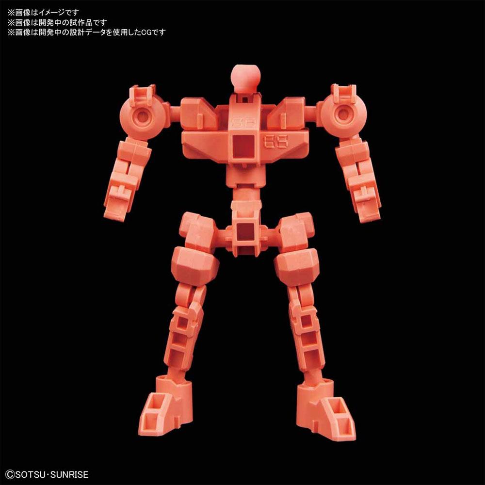 クロスシルエットフレーム レッドプラモデル(バンダイSDガンダム クロスシルエットNo.OP-005)商品画像_1