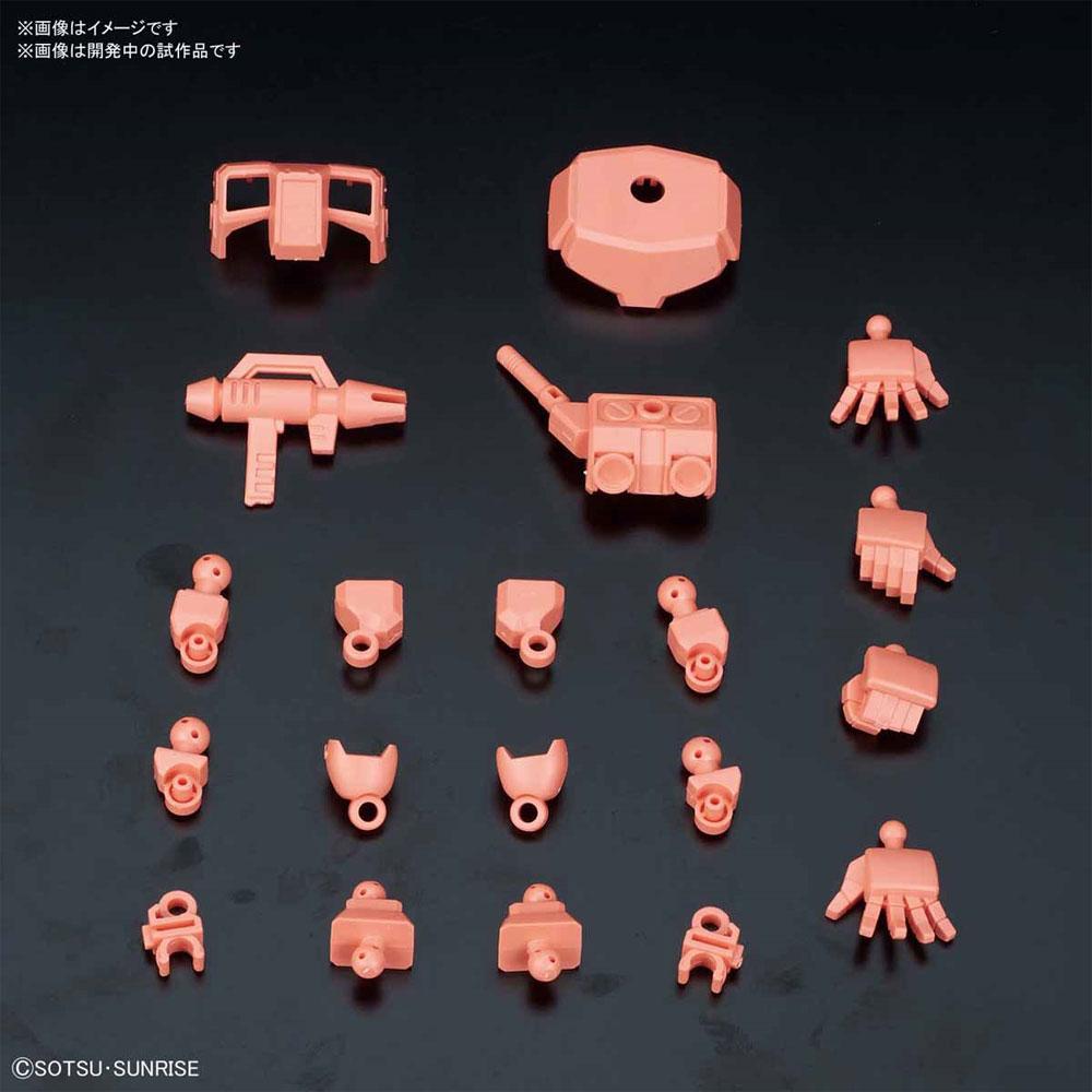 シルエットブースター レッドプラモデル(バンダイSDガンダム クロスシルエットNo.OP-007)商品画像_1