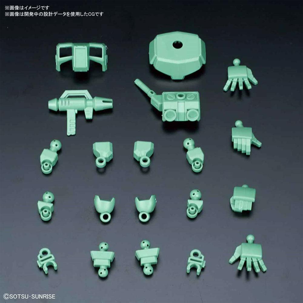 シルエットブースター グリーンプラモデル(バンダイSDガンダム クロスシルエットNo.OP-008)商品画像_1