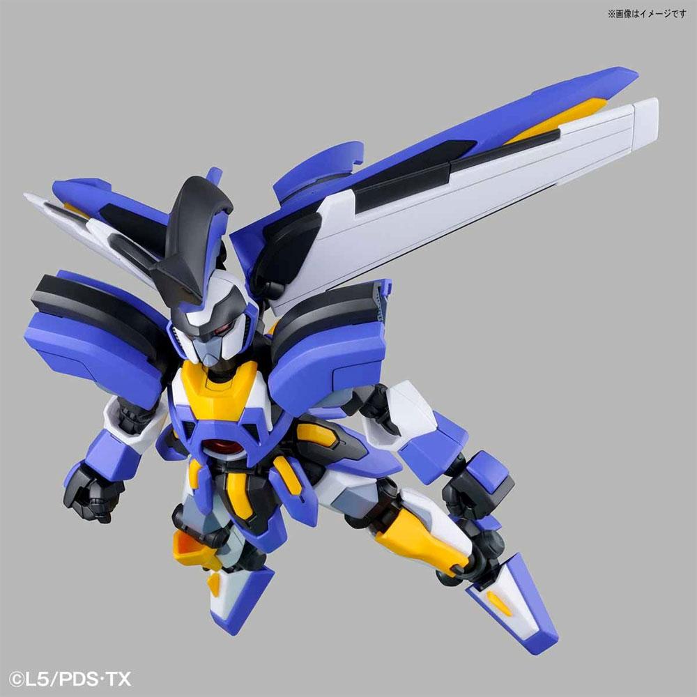 LBX オーディーンプラモデル(バンダイダンボール戦機 ハイパーファンクションNo.003)商品画像_4