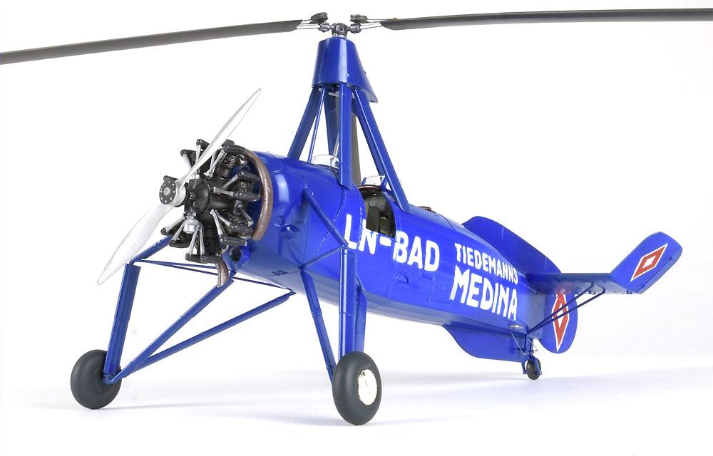アブロ シェルヴァ C.30 民間機プラモデル(ミニアートエアクラフトミニチュアシリーズNo.41006)商品画像_3