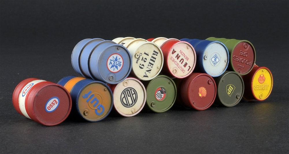 燃料 & オイル ドラム缶 1930-50sプラモデル(ミニアート1/35 ビルディング&アクセサリー シリーズNo.35613)商品画像_4