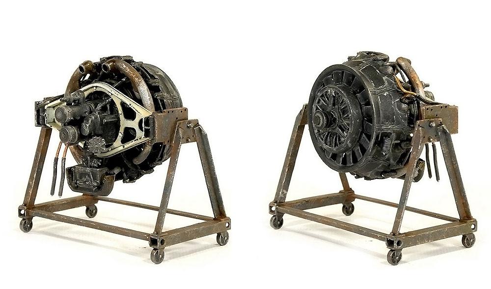 コンチネンタル R975 エンジンプラモデル(ミニアート1/35 WW2 ミリタリーミニチュアNo.35321)商品画像_2
