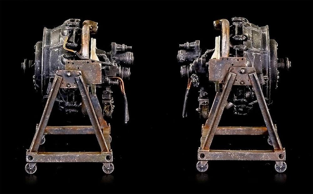 コンチネンタル R975 エンジンプラモデル(ミニアート1/35 WW2 ミリタリーミニチュアNo.35321)商品画像_4