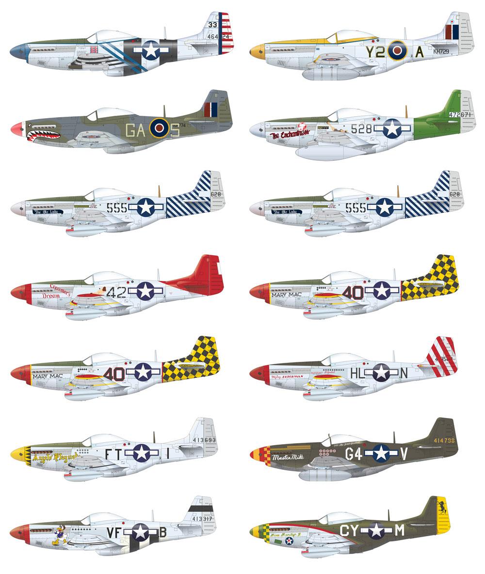 P-51D マスタング デュアルコンボプラモデル(エデュアルド1/48 ロイヤルクラスNo.R0020)商品画像_2