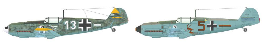 メッサーシュミット Bf109E-3プラモデル(エデュアルド1/48 ウィークエンド エディションNo.84157)商品画像_2