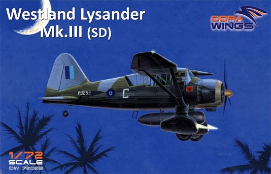 ウェストランド ライサンダー Mk.3 (SD) 特殊作戦機プラモデル(ドラ ウイングス1/72 エアクラフト プラモデルNo.DW72023)商品画像