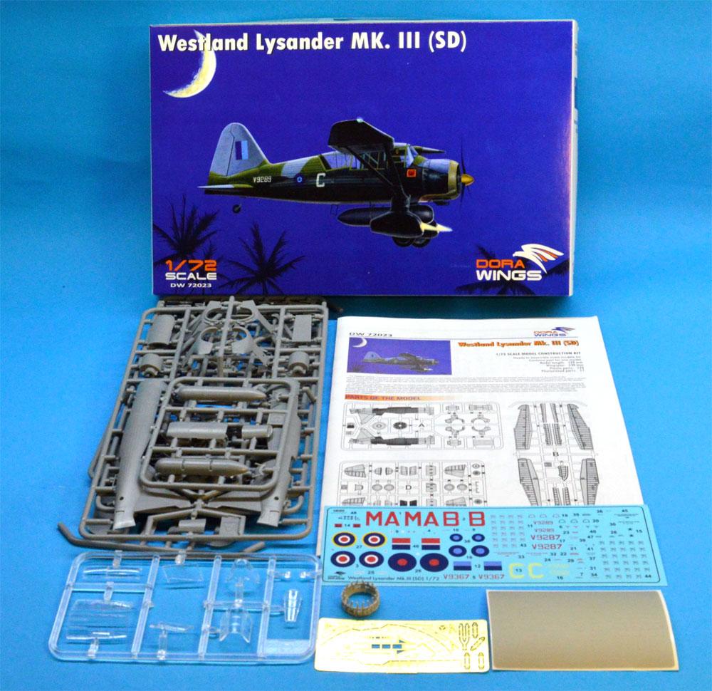 ウェストランド ライサンダー Mk.3 (SD) 特殊作戦機プラモデル(ドラ ウイングス1/72 エアクラフト プラモデルNo.DW72023)商品画像_1