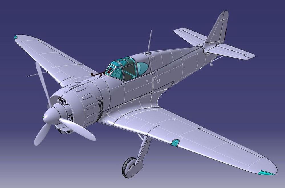 ブロック MB.152 後期型プラモデル(ドラ ウイングス1/48 エアクラフト プラモデルNo.DW48019)商品画像_4