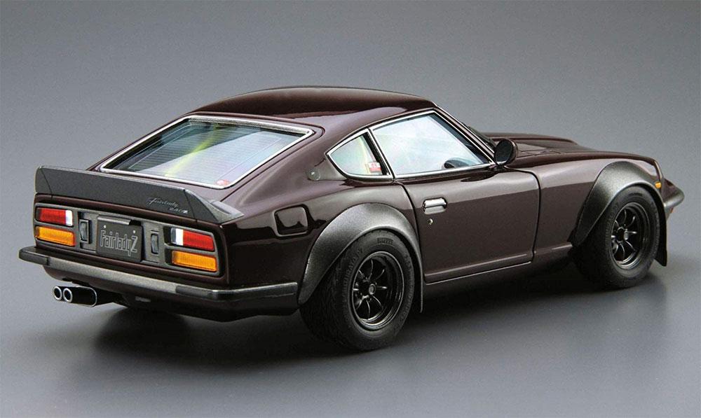 ニッサン S30 フェアレディ Z エアロカスタム '75プラモデル(アオシマ1/24 ザ・モデルカーNo.030)商品画像_3