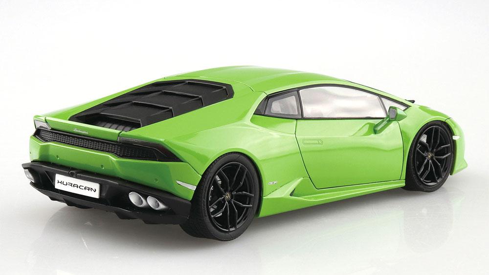 '14 ランボルギーニ ウラカンプラモデル(アオシマザ スーパーカー シリーズNo.003)商品画像_3