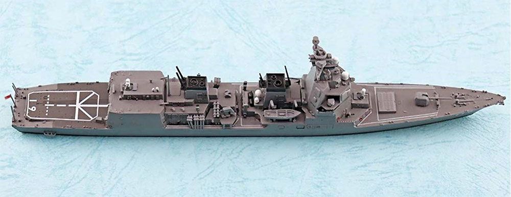 海上自衛隊 護衛艦 あさひプラモデル(アオシマ1/700 ウォーターラインシリーズNo.035)商品画像_3