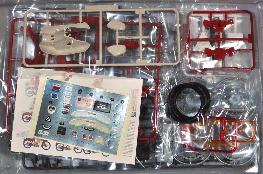 ホンダ スーパーカブ 110 60周年アニバーサリープラモデル(フジミ1/12 NEXTシリーズNo.001EX-003)商品画像_1