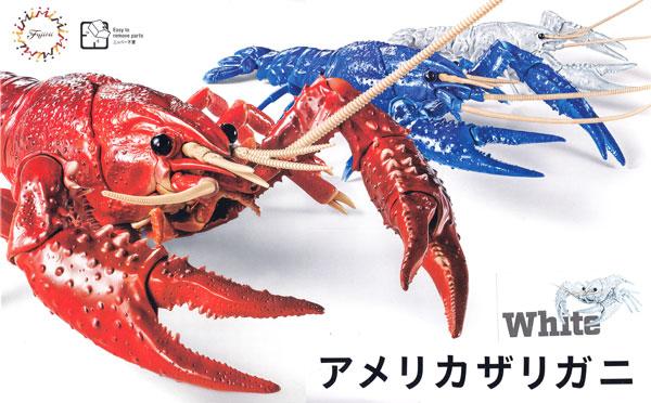 いきもの編 アメリカザリガニ ホワイトプラモデル(フジミ自由研究No.024EX-002)商品画像