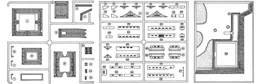 小倉城プラモデル(フジミ名城シリーズNo.002)商品画像_2