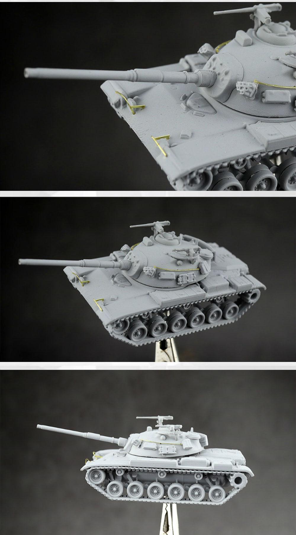 台湾陸軍 M48H 主力戦車プラモデル(U-STAR HOBBY1/144 タンクシリーズNo.UA-60002)商品画像_3