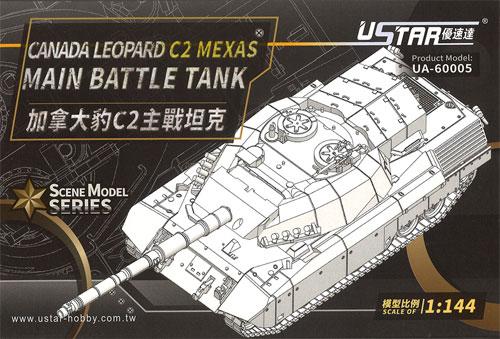 カナダ レオパルド C2 メクサス 主力戦車プラモデル(U-STAR HOBBY1/144 タンクシリーズNo.UA-60005)商品画像