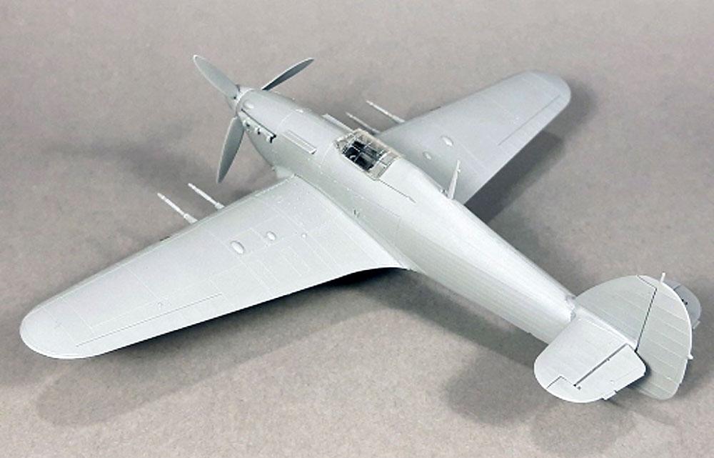 ホーカー ハリケーン Mk.2c エキスパートセットプラモデル(アルマホビー1/72 エアクラフト プラモデルNo.70035)商品画像_3