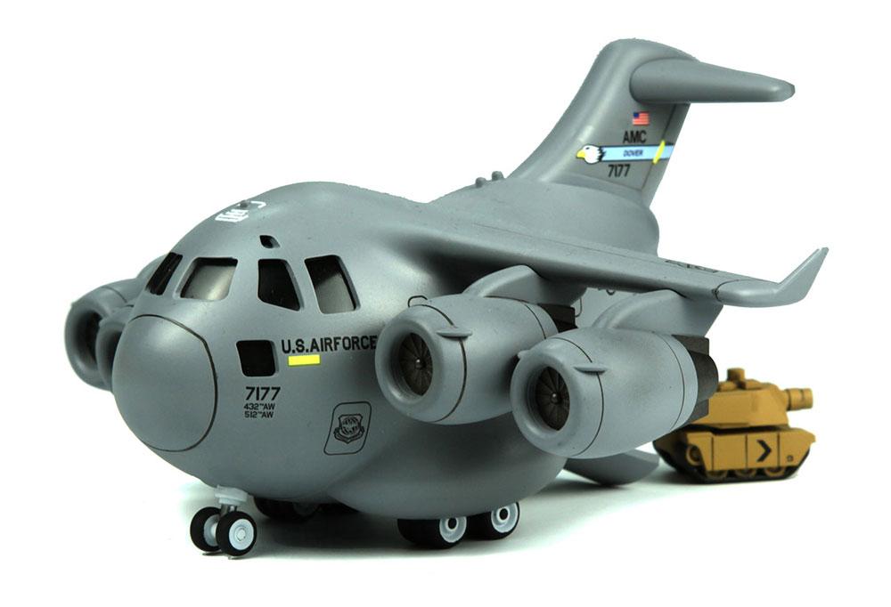 ボーイング C-17 グローブマスター Ⅲ 輸送機ピンセット(MENG-MODELMENG KIDSNo.mPLANE-007)商品画像_3