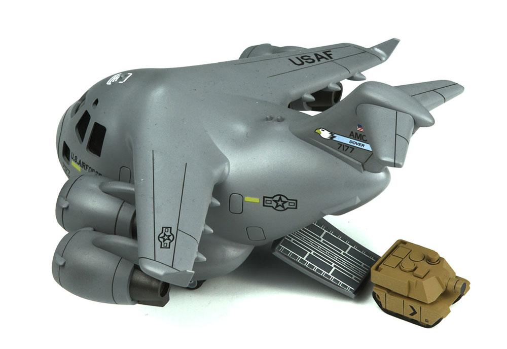 ボーイング C-17 グローブマスター Ⅲ 輸送機ピンセット(MENG-MODELMENG KIDSNo.mPLANE-007)商品画像_4