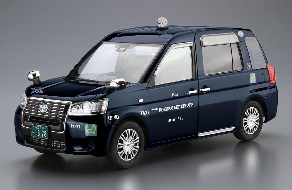 トヨタ NTP10 JPNタクシー '17 国際自動車仕様プラモデル(アオシマ1/24 ザ・モデルカーNo.SP057162)商品画像_2